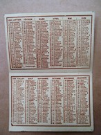 Kleine Kalender 1939  Met Dame En  Hond - Calendars
