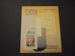 TURKS CAICOS - BF 1981 PABLO PICASSO - NUOVO(++) - Turks E Caicos