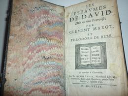Les Psaumes De David 1674 - Books, Magazines, Comics