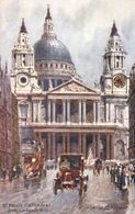 Charles Flower  -  St. Paul's Cathedral As Seen From Ludgate Hill    -    7940 - Tuck, Raphael