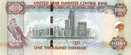 U.A.E. P. 33d 1000 D 2015 UNC - Emirats Arabes Unis