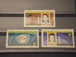 VIETNAM NORD - 1964 VOSTOK VI 3 VALORI - NUOVI(++) - Vietnam