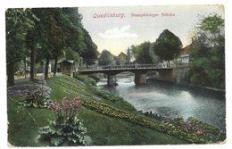 Germania Quedlinburg Stumpfsburger Brücke Non Viaggiata - Quedlinburg