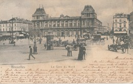 Bruxelles - La Gare Du Nord - Vervoer (ondergronds)