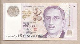 Singapore - Banconota Circolata QFdS Da 2 Dollari - P-46e - 2011 - Singapore