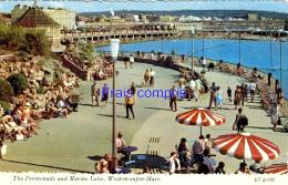 RU - Weston-super-Mare - The Promenade And Marine Lake - 1976 - Weston-Super-Mare