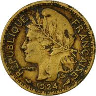 Monnaie, Cameroun, 50 Centimes, 1924, Paris, TTB, Aluminum-Bronze, KM:1 - Cameroon