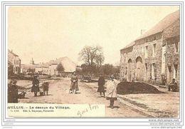 WELLIN ..-- Le Dessus Du Village . 1909 Vers GLAIN ( Melle Yvonne DELFOSSE ) . Voir Verso . - Wellin