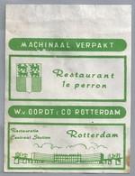Suikerwikkel.- RETAURANT - 1e PERRON -. Restauratie Centraal Station ROTTERDAM.. Sugar. Zucchero. Suiker. - Sugars