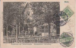 57 - METZ - RESTAURANT FUHRMANN - CARTE RARE - Metz