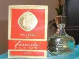 FAROUCHE - EDT 6 ML De NINA RICCI - Miniatures Modernes (à Partir De 1961)