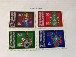 Liechtenstein Coat Of Arms 1981 Mnh - Liechtenstein