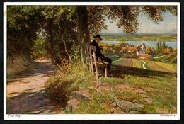B2678 - Paul Hey - Künstlerkarte - Herbstsonne - 933 - Hey, Paul