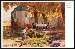 B3011 - Paul Hey - Künstlerkarte - Goldener Herbst - Hans Friedrich Abshagen Dresden Nr. 706 - Hey, Paul