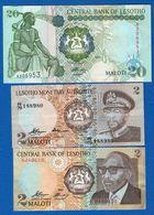 Lesotho  3  Billets - Lesotho