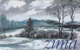 TARJETA TELEFONICA  DE ESLOVAQUIA. (049) ZIMA - Eslovaquia