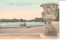 (78) Yvelines - Versailles - CPA - Parc - Les Parterres D'eau Sur Terrasse - Versailles (Castillo)