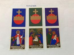 Liechtenstein Christmas 1981 Mnh - Liechtenstein