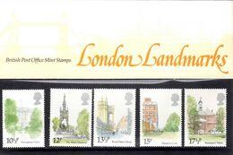 GB 1980 London Landmarks Presentation Pack 118 - Presentation Packs