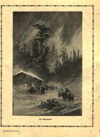 Im Schneesturm / Druck, Entnommen Aus Kalender / Datum Unbekannt - Books, Magazines, Comics