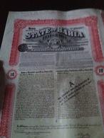 Etat De Bahia- République Des Etats Unis Du Brésil - Aandelen