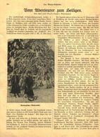 Vom Abenteurer Zum Heiligen(Charles De Foucould) / Druck, Entnommen Aus Kalender / Datum Unbekannt - Books, Magazines, Comics