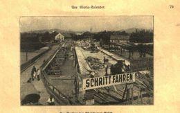 Der Neubau Der Edelsberger Bruecke / Druck, Entnommen Aus Kalender / Datum Unbekannt - Books, Magazines, Comics
