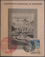 C3249-Brazil-4th World Soccer Championship Private Souvenir Card-1950 - World Cup