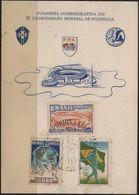 C3250-Brazil-4th World Soccer Championship Private Souvenir Card-1950 - World Cup