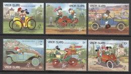 St. Vincent/Grenadinen Union Island 246/51 ** Postfrisch Walt-Disney-Figuren - St.Vincent & Grenadines