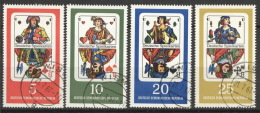 DDR 1298/1301 O Tagesstempel - [6] République Démocratique