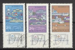 Ungarn 2572/74A O - Hongrie