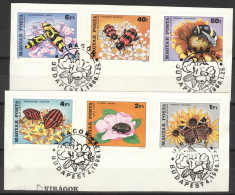 Ungarn 3405/10A Auf Briefstücken Sonderstempel - Hongrie