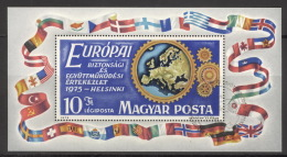 Ungarn Block 113A O - Blocs-feuillets