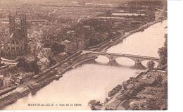 (78) Yvelines - Mantes La Jolie - Vue Sur La Seine - Mantes La Jolie