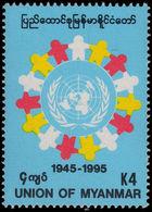 Myanmar 1995 United Nations Unmounted Mint. - Myanmar (Burma 1948-...)
