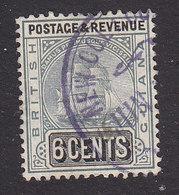 British Guiana, Scott #176, Used, Ship, Issued 1907 - British Guiana (...-1966)
