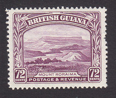 British Guiana, Scott #220, Mint Hinged, Mt Roraima, Issued 1934 - Brits-Guiana (...-1966)