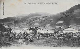 74 - Haute-savoie - Megève Et Le Champ De Foire - éd. Morand N° 37 - Megève