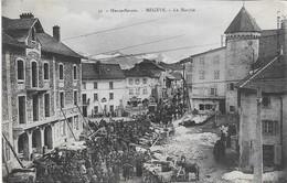 74 - Haute-savoie - Megève Le Marché - CPA écrite Et Voyagée En 1905 - - Megève