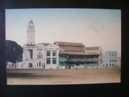 SINGAPORE - CRICKET CLUB POSTCARD  IN THE STATE - Singapore