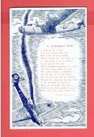 CARTE POSTALE AMERICAINE A GUNNER S VOW 1940 LAS VEGAS ARMY AIR FIELD NEVADA FLEXIBLE GUNNERY SCHOOL AVIATION WWII - Aviación