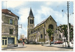 CPSM - BONDY (Seine St Denis) - L'Eglise - Bondy