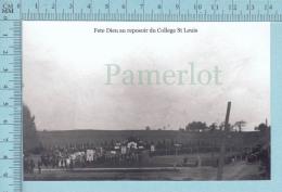 East Angus, Quebec # 136- Fète Dieu, Au Reposoir Du Collège St-Louis -  CPM - Other