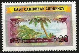 St Vincent  - 1989 East Caribbean Currency $20 MNH **   Sc 1086a - St.Vincent (1979-...)