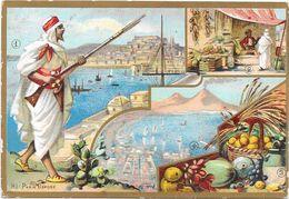 CHROMO Editeur Alcide PICARD Paris -  ALGERIE TUNISIE - ROUIL** - - Trade Cards