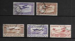 Egypte Poste Aérienne 1926  Cat Yt N° 1et 2  Et Poste 1933 Cat Yt N° 150 à 152 - Poste Aérienne