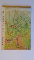 D158080 MAP CARTE KARTE  Hungary  Miskolc és A Bükk - MIskolctapolca Hámor Ómassa Újmassa Diósgyör - Landkaarten