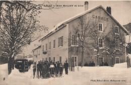 H109- 01 - LÉLEX - Ain - Hôtel MALLET En Hiver - Francia