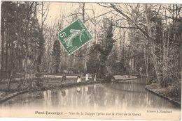 CPA Pont Faverger Pont Faverger Vue De La Suippe 51 Marne - Other Municipalities